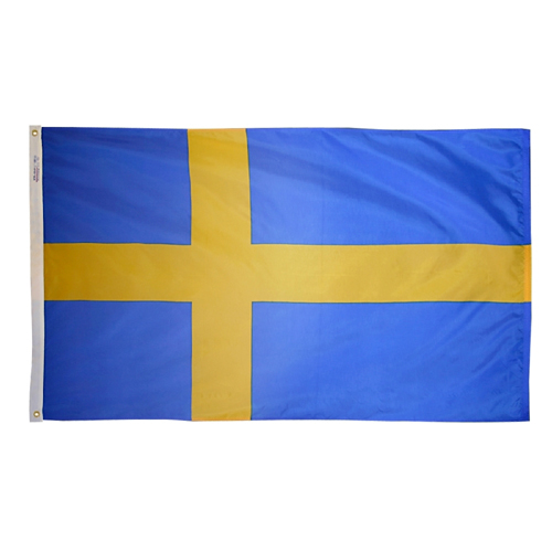 Sweden International Nylon Flag