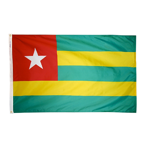 Togo International Nylon Flag