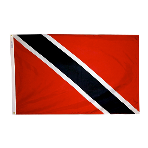 Trinidad Tobago International Nylon Flag