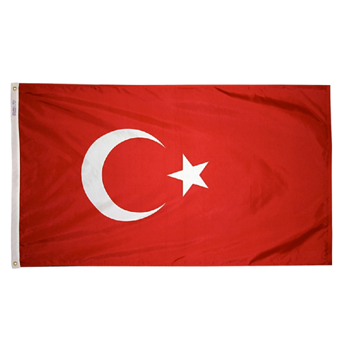 Turkey International Nylon Flag