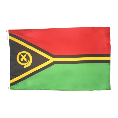 Vanuatu International Nylon Flag