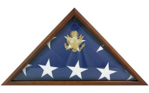 Cherry Memorial Flag Display Case
