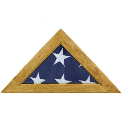Maple Memorial Flag Display Case