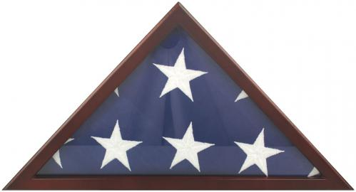 Poplar Memorial Display Flag Case