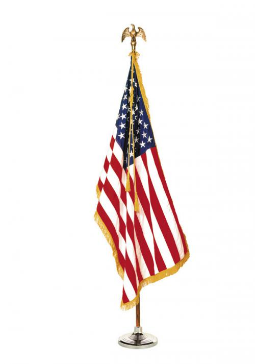 United States US Presentation Flag Set
